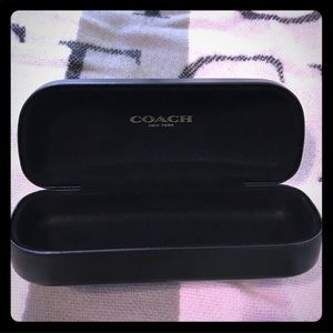 Coach hard sunglasses case only